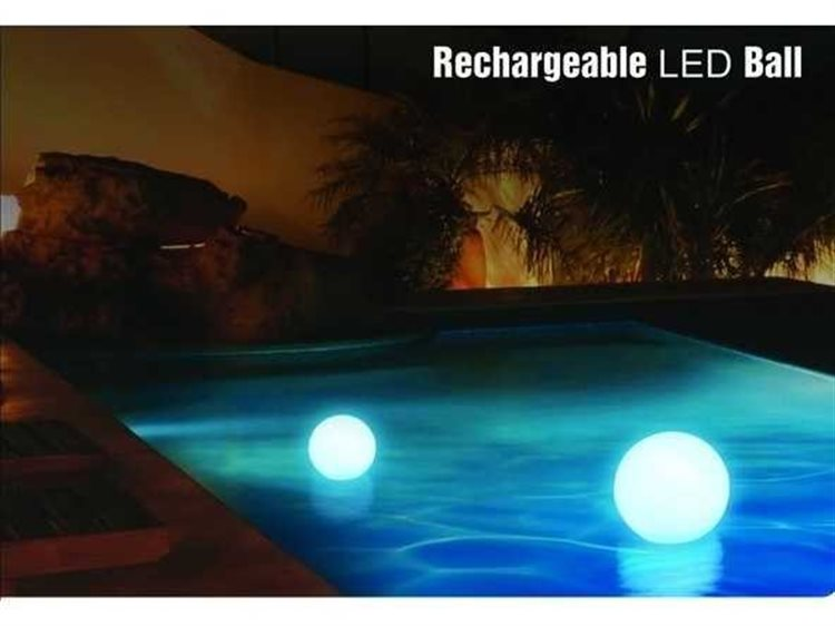 Feruci Outdoor Led Light 24D Round Ball with Remote PatioLiving