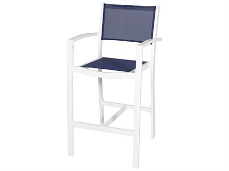 Feruci Sling Aluminum Bar Stool PatioLiving