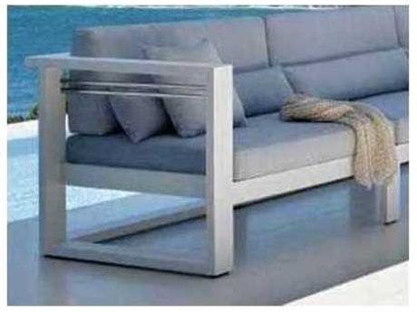Feruci Aruba Aluminum Left Arm Lounge Chair PatioLiving