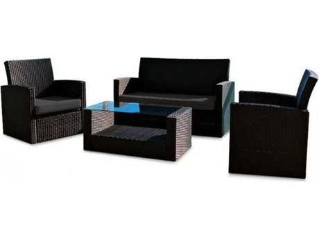 Jaavan Ibiza Wicker Lounge Set