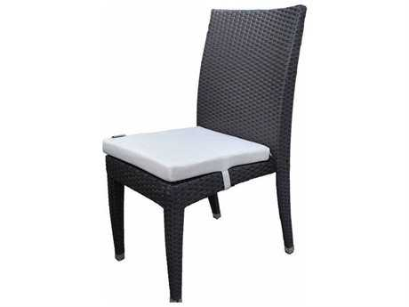 Jaavan Venice Wicker Dining Side Chair