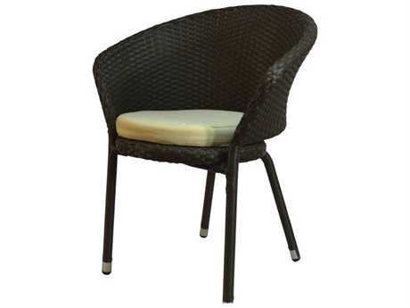 Jaavan Bistro Wicker Dining Chair