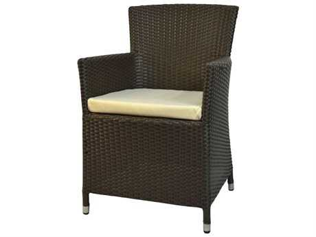 Jaavan Resto Wicker Dining Arm Chair