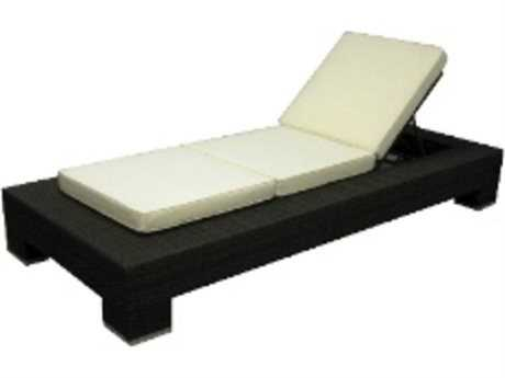 Jaavan Venice Wicker Chaise Lounge