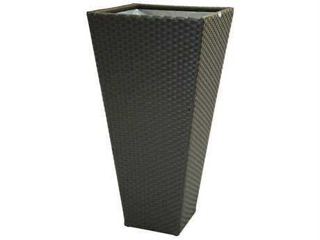 Jaavan Wicker Planter 26 with Inner Box