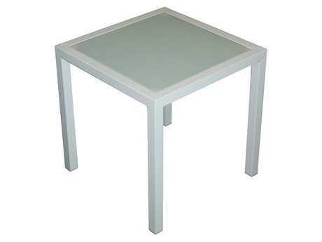 Jaavan Pure Aluminum 18 Square Side Table
