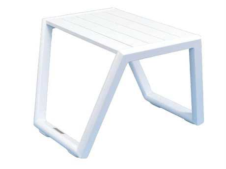 Jaavan Pure Aluminum 18 Square Table
