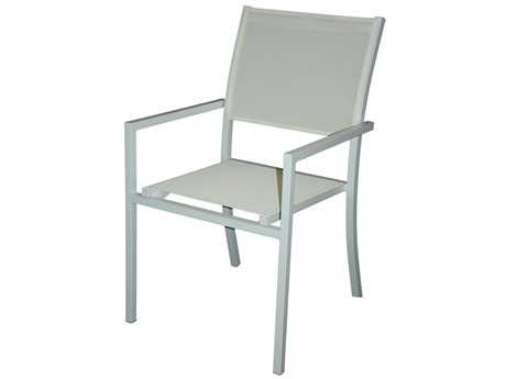 Jaavan Pure Aluminum Dining Arm Chair