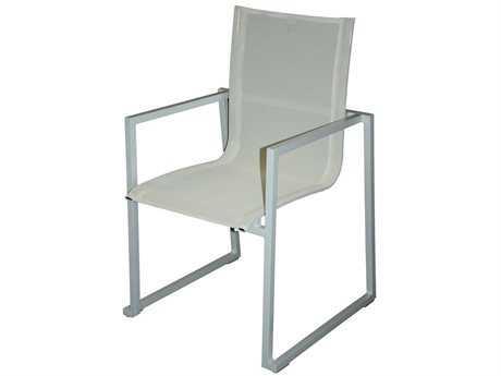 Jaavan Pure Aluminum Dining Arm Chair
