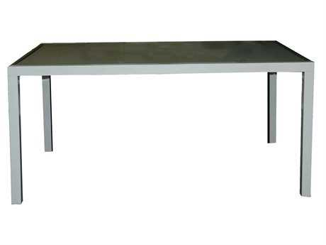 Jaavan Pure  Aluminum 80 x 40 Rectangular Dining Table