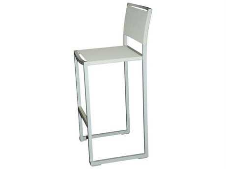 Jaavan Pure Aluminum Barstools with Backrest