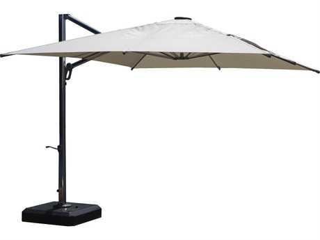 Jaavan Aluminum Nassau Commercial 10'' x 12'' Umbrella