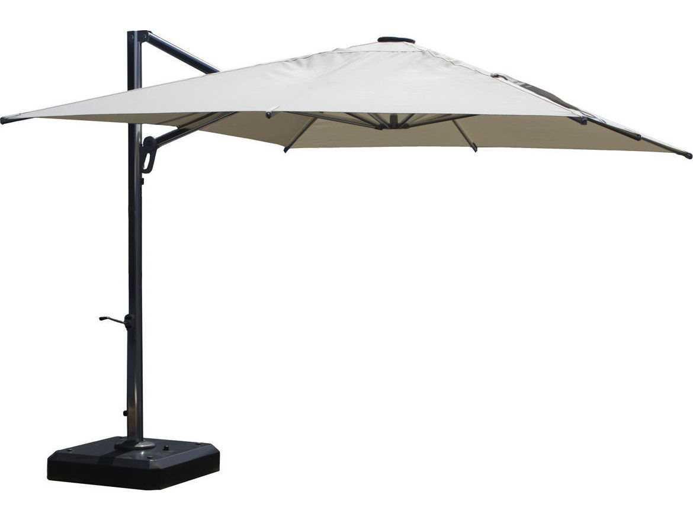 Jaavan Aluminum Nassau Commercial 10 X 12 Umbrella