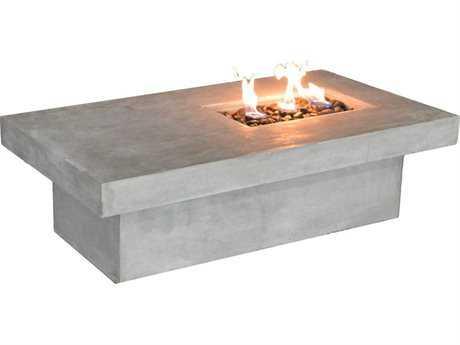 Jaavan Stone 55 x 30 Rectangular Fire Pit