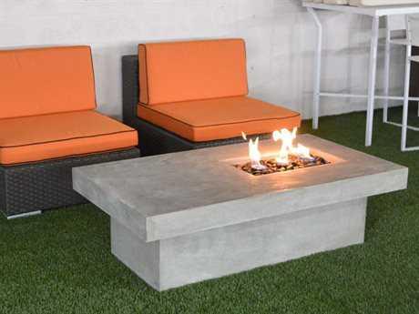 Jaavan stone 55 x 30 rectangular fire pit jvja170r for Rectangular stone fire pit