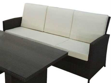 Jaavan Bora Bora Wicker Sofa