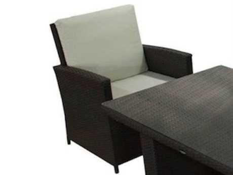 Jaavan Bora Bora Wicker Lounge Chair