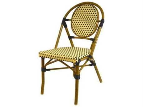 Jaavan Cafe Teak Paris Dining Side Chair