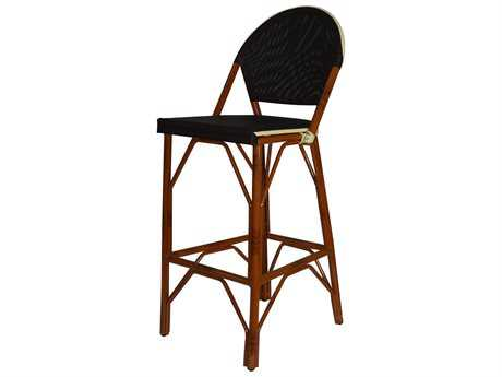 Jaavan Cafe Teak Mesh Barstool with or w/o LOGO