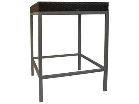 Jaavan Fidji Wicker 34'' Wide Square Bar Table JVJA46