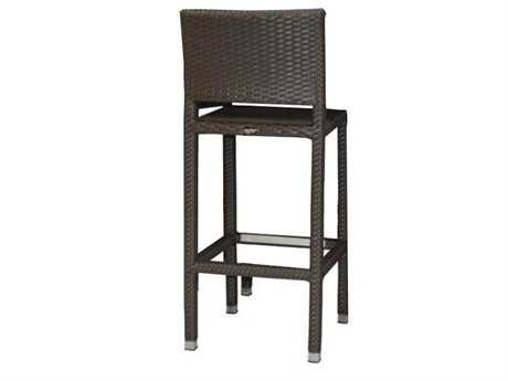 Jaavan Venice Wicker Barstool Swivel
