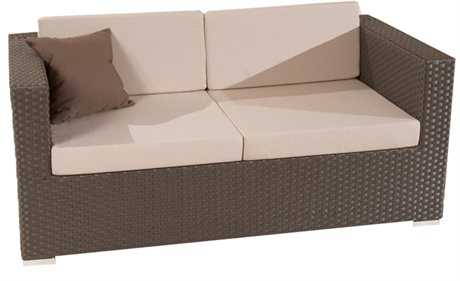 Jaavan Fidji Wicker Loveseat