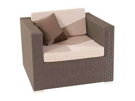 Jaavan Fidji Wicker Lounge Chair JVJA53