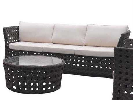 Jaavan Open Wicker Sofa