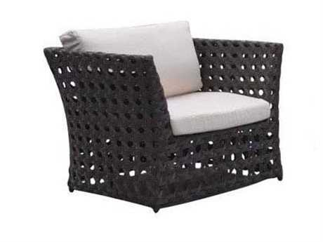 Jaavan Open Wicker Lounge Chair