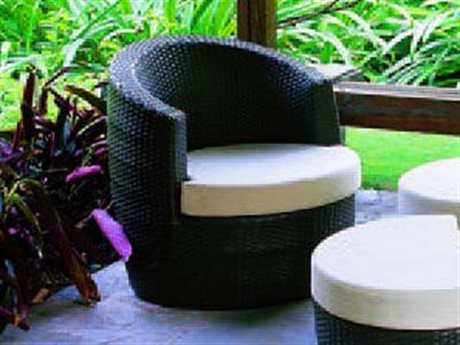 Jaavan Melrose  Wicker Lounge Chair