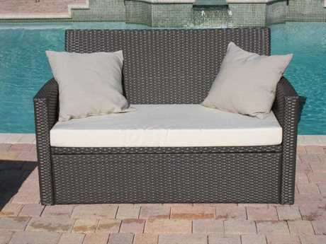 Jaavan Ibiza Wicker Loveseat