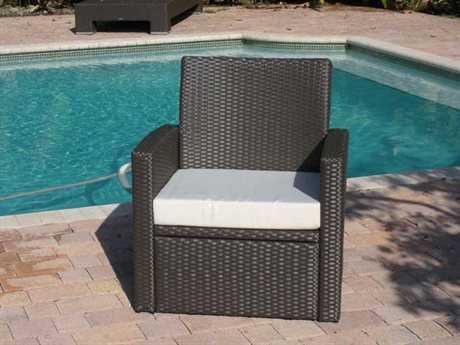 Jaavan Ibiza Wicker Lounge Chair