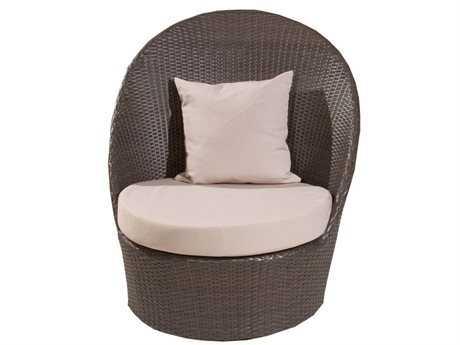 Jaavan Zen Wicker Lounge Chair