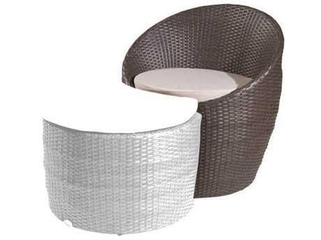 Jaavan Bali Wicker Lounge Chair JVJA82