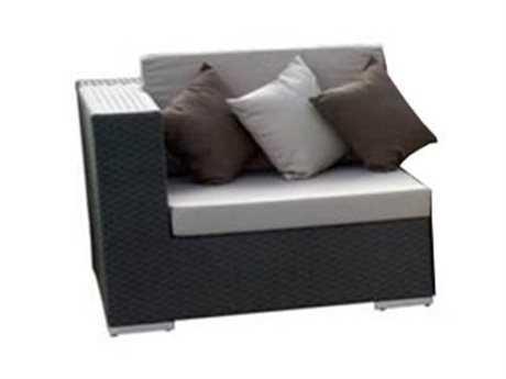 Jaavan Venice Wicker Right/Left Arm Facing Lounge Chair