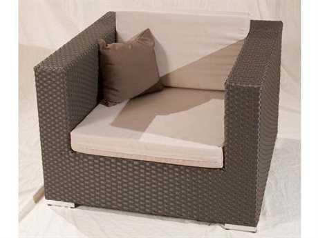 Jaavan Venice Wicker Lounge Chair