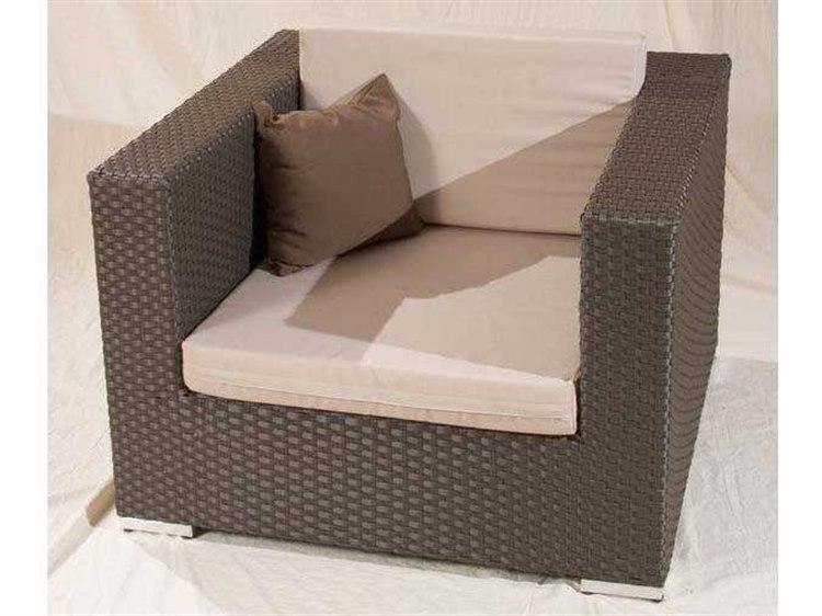 Jaavan Venice Wicker Lounge Chair Ja 90