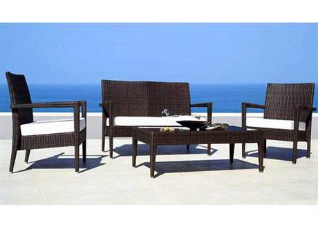 Jaavan Sobe Wicker Lounge Set