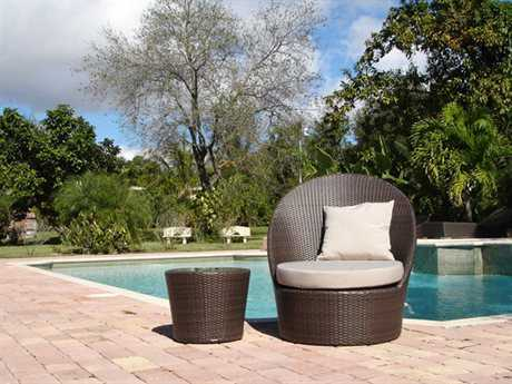 Jaavan Zen Cushion Wicker Lounge Set