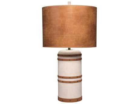 Jamie Young Company Barrel Canvas Table Lamp