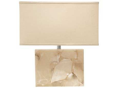 Jamie Young Company Borealis Alabaster Large Table Lamp