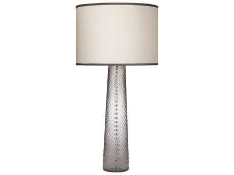 Jamie Young Company Cut Glass Pillar Gray Table Lamp