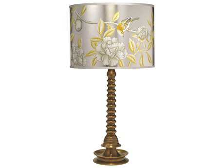 Jamie Young Company Ghee Antique Brass Table Lamp