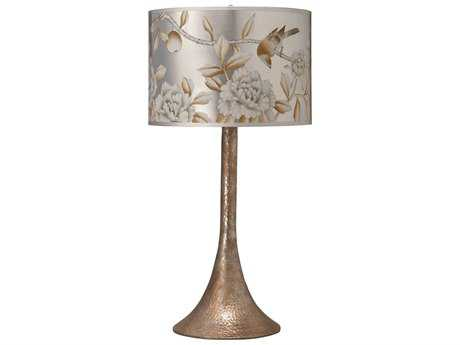 Jamie Young Company Hammered Metal Platinum Table Lamp