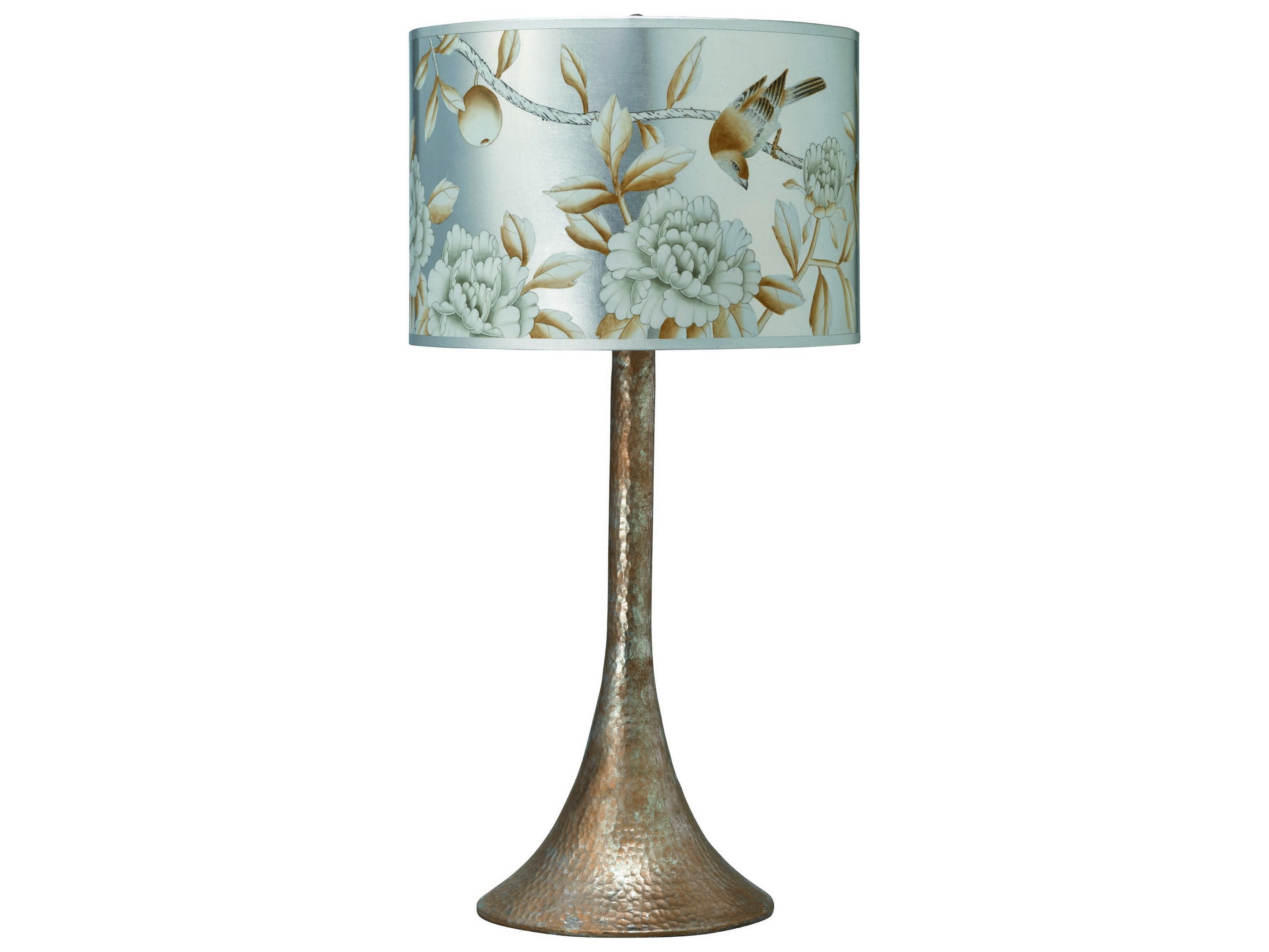 Jamie Young Company Hammered Metal Platinum Table Lamp ...