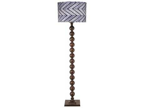 Jamie Young Company Luna Chocolate Floor Lamp