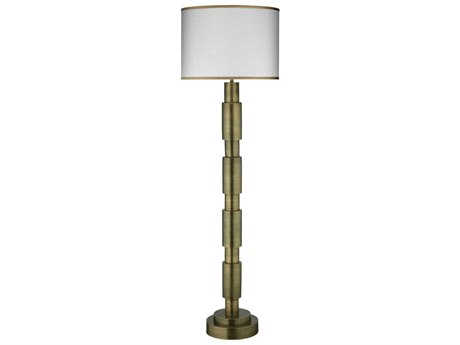 Jamie Young Company Quinn Antique Brass Floor Lamp