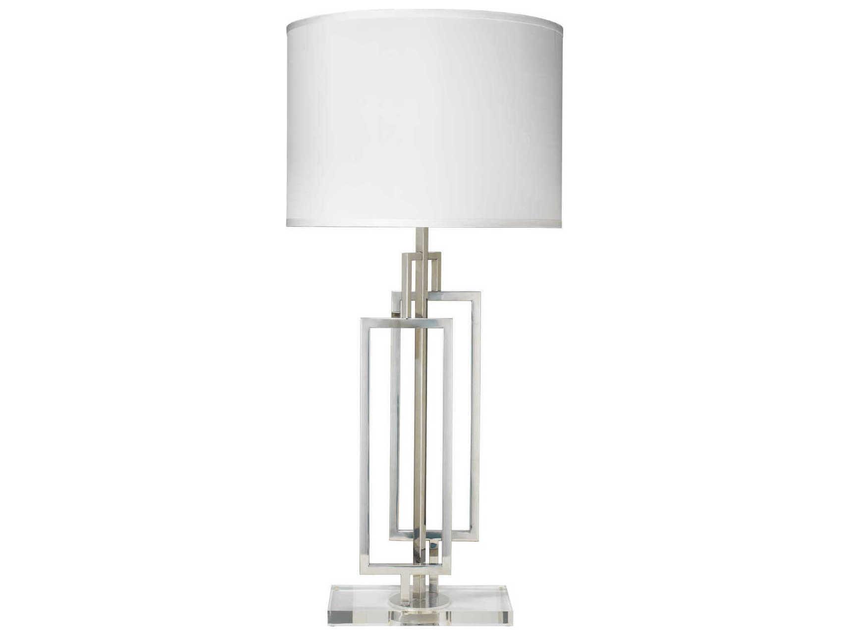 Jamie Young Company Romeo Nickel Buffet Lamp
