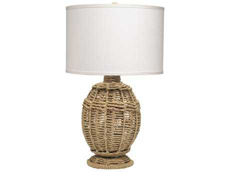 Jamie Young Company Jute Urn Small Table Lamp