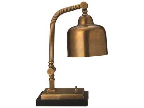 Jamie Young Company Shanghai Antique Brass Table Lamp